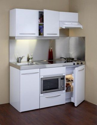 Another Compact KitchenPrebuilt Kitchen Pinterest House
