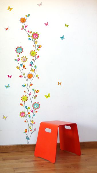 farandole stickers muraux wall stickers design srie golo