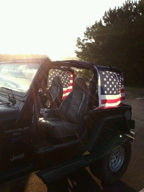 4th of july jeep decorations