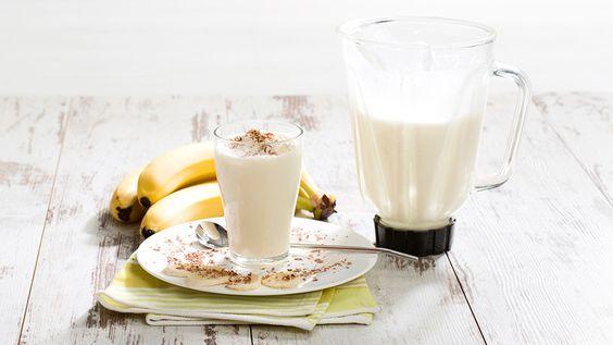 Bananen-Honig-Milchshake