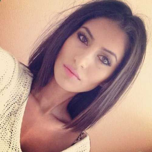 Pleasant Brunette Bob Hairstyles 2015 Short And 2015 Short Hairstyles On Hairstyles For Women Draintrainus