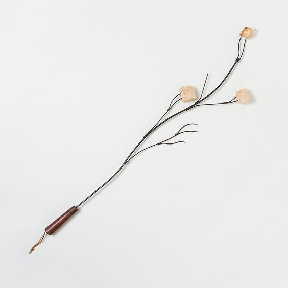 Break out this marshmallow twig-shaped roaster to fulfill all your backyard campfire needs for Christmas.