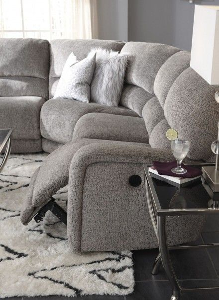 Pin By Brenda Garrod On Couches In 2020 Sectional Sofa With Recliner Reclining Sectional Reclining Sofa Living Room