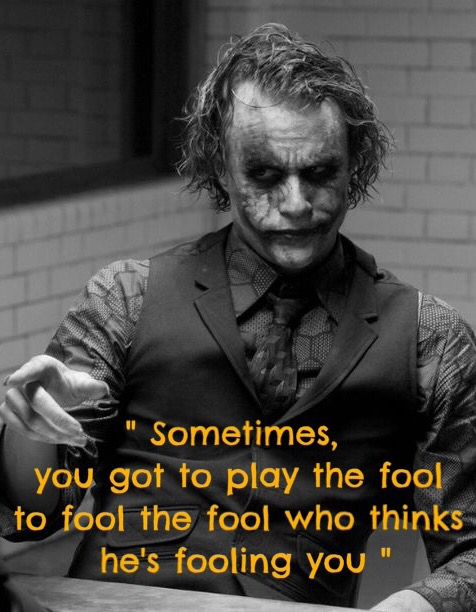 fooling the fool