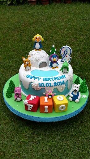 Pororo cake birthday pororo kids girl boys party cake cupcake