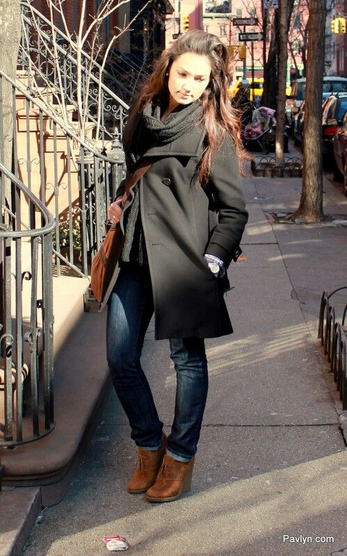 Wedge boots with skinny jeans | Outfits /Shoes | Pinterest ...