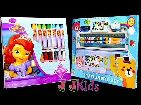 Disney Princesses Jumbo Art Set And Pencilbox Stationery Combo Gift Set For Kids Pencil Box Gift Set For Kids Jumbo Crayons Stationery School Stationery