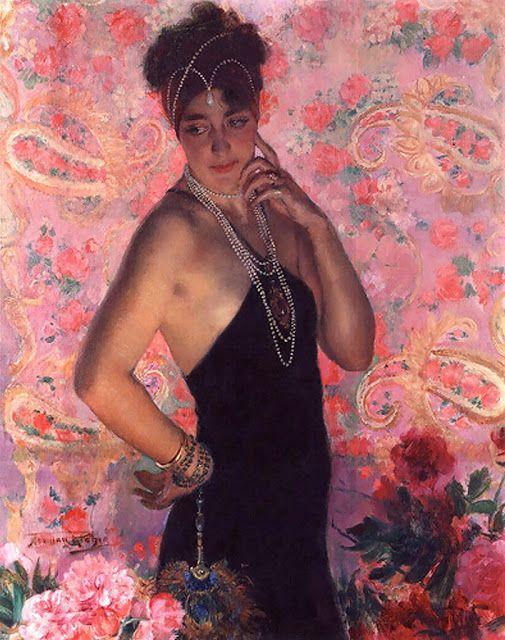 Herman Richir (1866-1942), La Dame aux Perles.