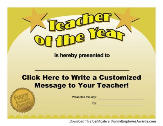 Funny Teacher Awards Teacher Awards Funny Teacher Awards Sunday School Teacher Appreciation