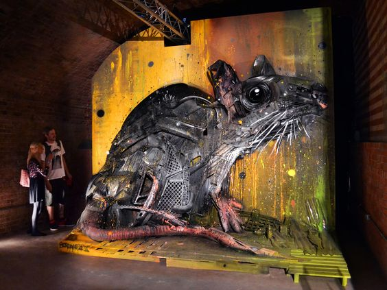 These Murals Mix Street Art with the Recycling Bin | The Creators Project