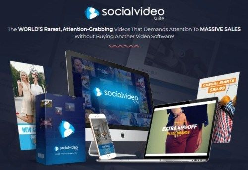 Social Video Suite Pro By Brett Ingram Review Best Revolutionary Video Templates Powered By Microsoft That Will Help You To Create Unlimited Attention Grabbin Video Template Video Marketing Video