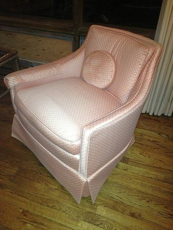 Pair of pink lounge chairs - 1960's - $295 ea