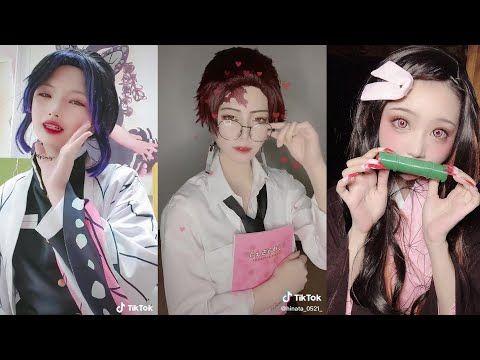 鬼滅の刃 コスプレ tama tik tok cosplay demon slayer 32 youtube tama cosplay tik tok