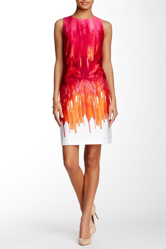 Modern American Designer | Sleeveless Printed Sheath Dress | Nordstrom Rack