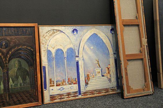 Работы с будущей экспозиции выставки в Музее изобразительных искусств. Фото Жени Шведы