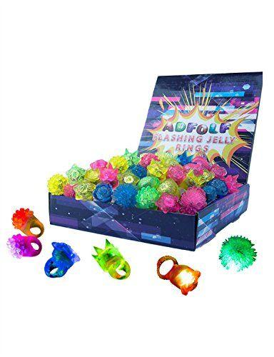 36 Pack Flashing Led Bumpy Rubber Rings Party Jelly Light... https://www.amazon.com/dp/B01EWKB5P2/ref=cm_sw_r_pi_awdb_x_soAAybJQ47XGS