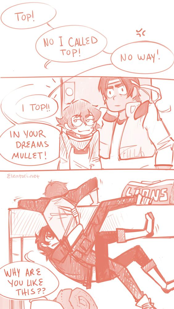<3 xD ^^^I think Hunk was expecting to walk in on something different xD