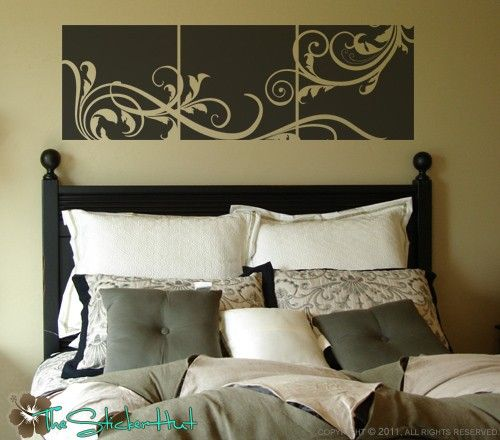 ... Wall Art Vinyl Decals Contemporary Luxurious. Vinyl ...
