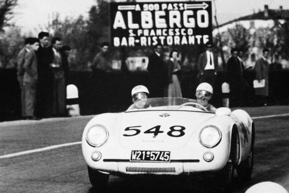 Porsche 550 - Mille Miglia