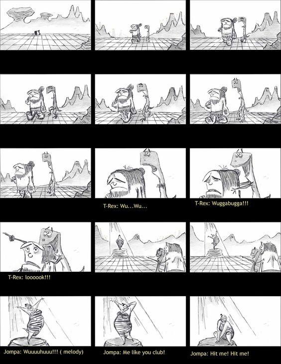 Leo Matsuda  Prekisstoric Times  Storyboard    Leo Matsuda