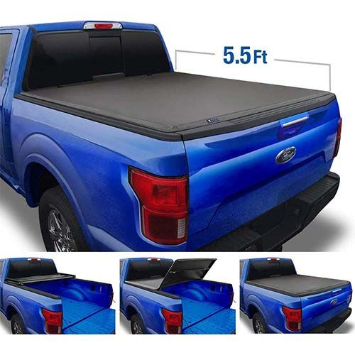 Top 10 Best Hard Tonneau Covers For Ford 150 In 2019 Reviews Spare Mine Tonneau Cover Truck Tonneau Covers Ford F150