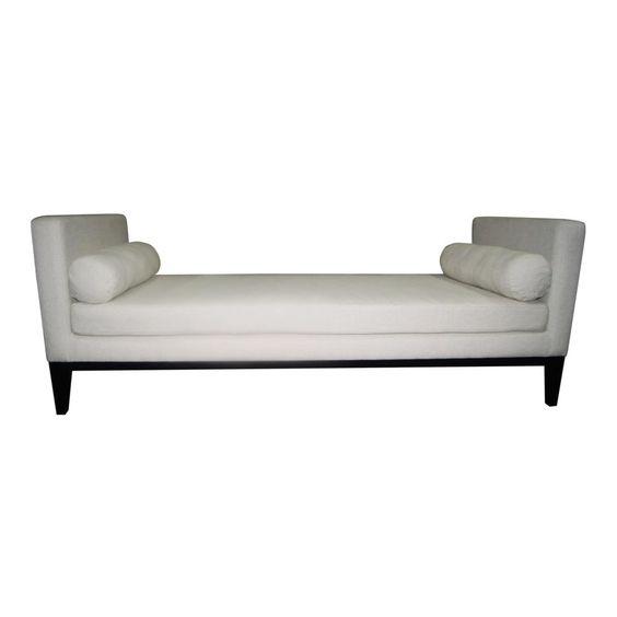 LEXINGTON DAY BED WHITE 78x30d x 29h  00082010000
