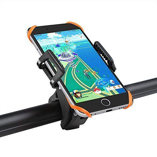 Support vélo du guidon TaoTronics pour Smartphone, GPS et autres appareils (se détache en un seul clic, rotatif à 360, bracelet en…