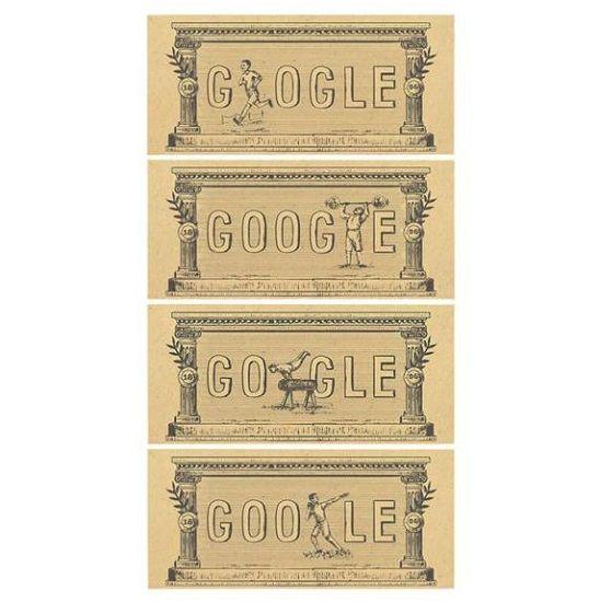 Hoy se cumplen 120 años de los primeros Juegos Olímpicos modernos y Google lo celebra como se merece - http://www.juegosyolimpicos.com/hoy-se-cumplen-120-anos-los-primeros-juegos-olimpicos-modernos-google-lo-celebra-se-merece/