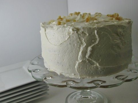 Luscious Limoncello Layer Cake