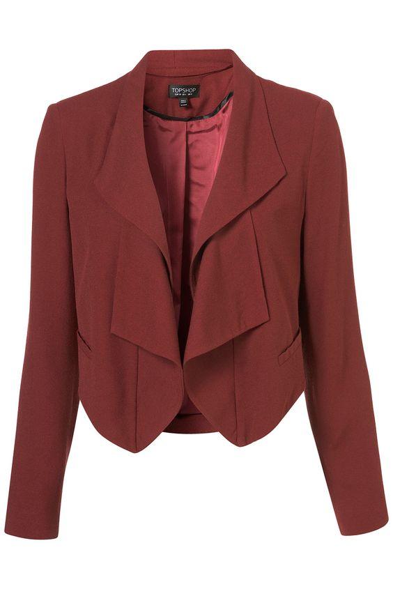 Folded Lapel Jacket
