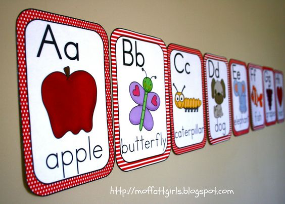 Cutesify your classroom Part 1 ABC Cards