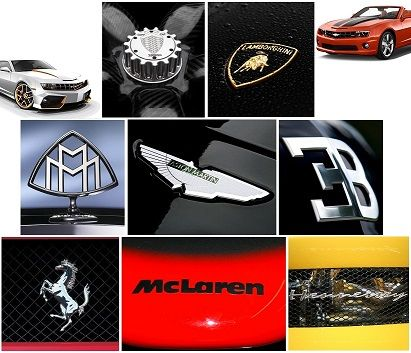 Most Expensive Car Symbol