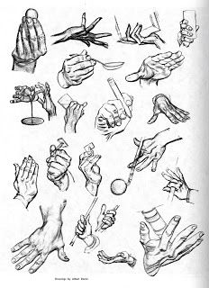Character and Creature Design Notes: Hand Reference, Part Four