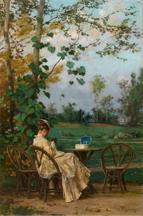 By Frederik H. Kaemmerer  (1839-1902)