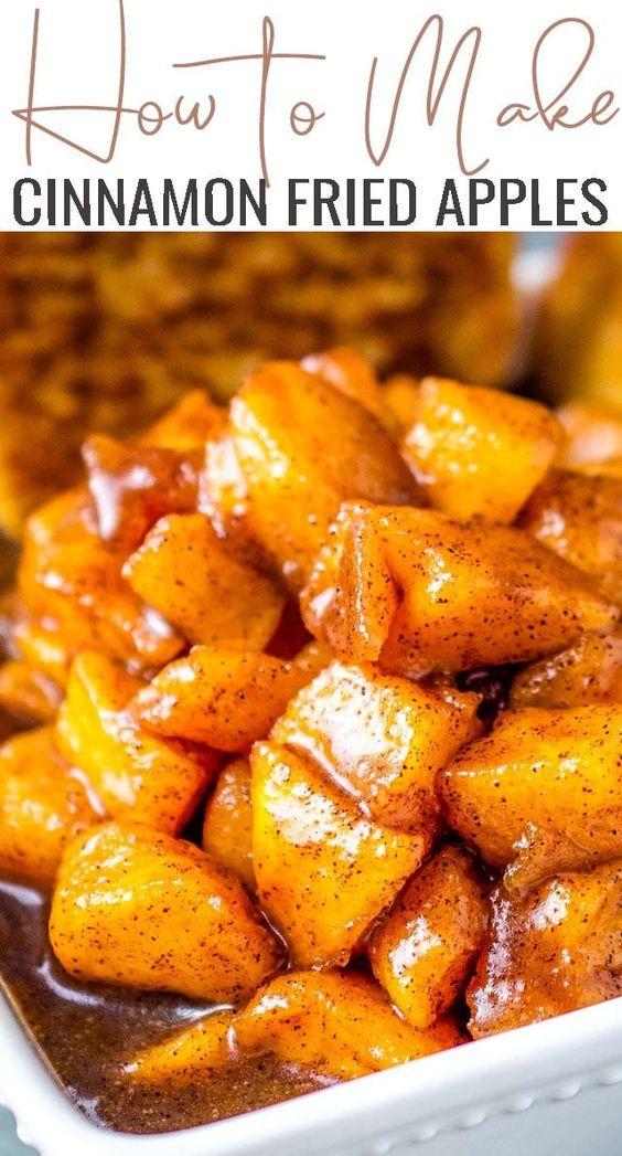 How to Make Cinnamon Fried Apples