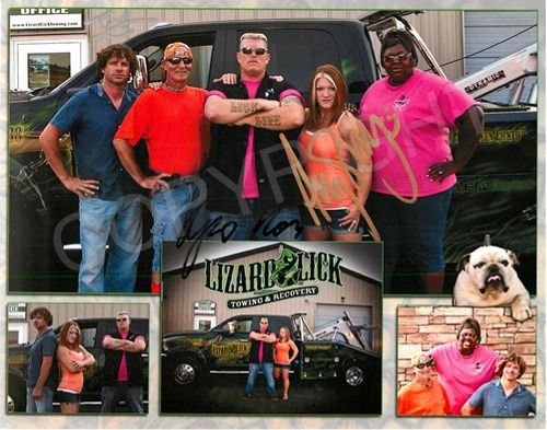 -Lizard Lick Towing and Recovery Store | Autographed Lizard Lick ...