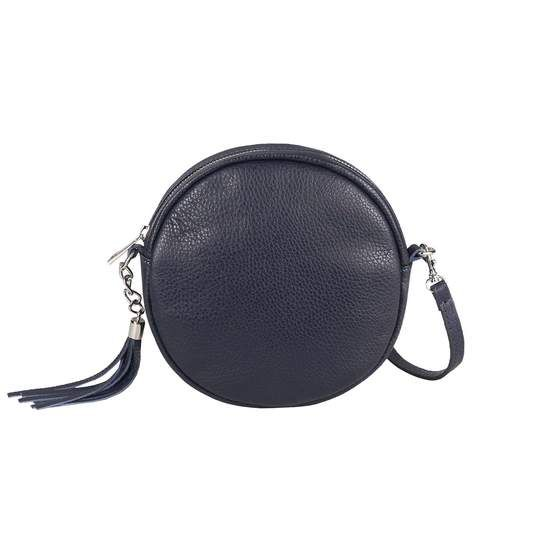 Leder Silber Metallic Damen Tasche 2 in 1 Bauchtasche Handtasche echtes ital