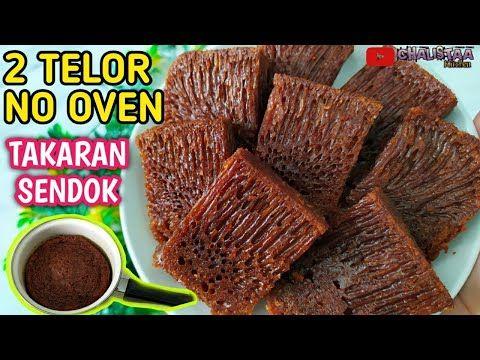 Membuat Bolu Sarang Semut Pakai Panci Hasilnya Warrrbiasa Bolu Karamel Youtube Karamel Makanan Makanan Ringan Manis