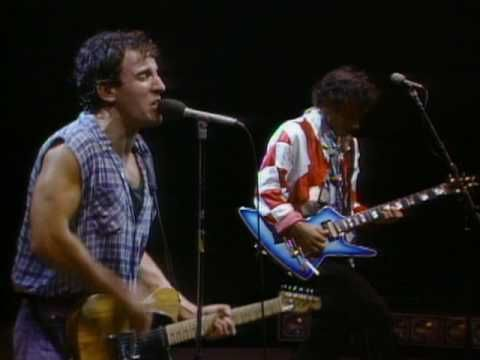 """2. Bruce Springsteen - """"Born to Run"""" (1975)  Bruce Springsteen has stated that he wrote """"Born to Run"""" as a last-ditch effort to become a true star. His first two albums had been critically acclaimed but didn't sell particularly well. The song is essentially a passionate, heroic love letter to a girl named Wendy. The imagery in the song is powerful with """"kids huddled on the beach in a mist"""" and """"highways jammed with broken heroes."""""""