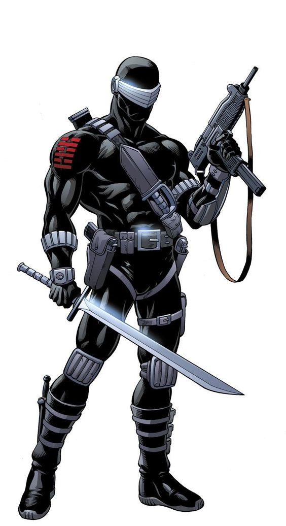 Childhood hero. Snake Eyes.