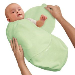 Swaddling wrap. Comes in organic cotton too.