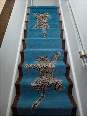 climbing leopard rug