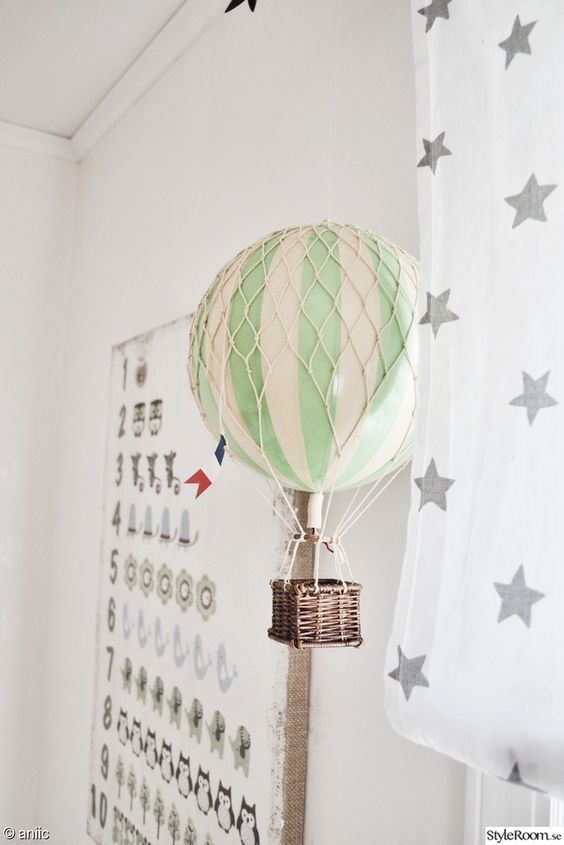 barnrum,luftballong,vitt,garderob,vimpel | Inspiration Junis rum ...