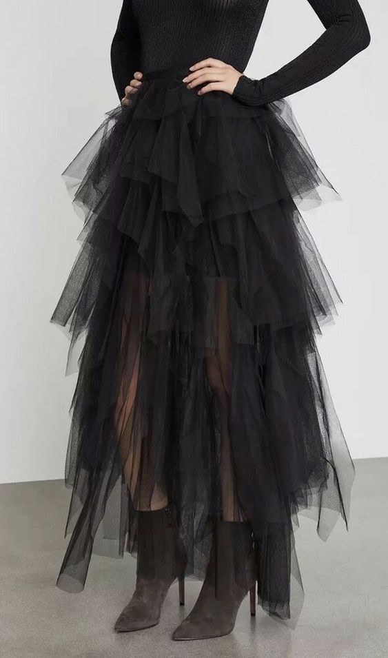 BCBG MAXAZRIA CAMBER LAYERED TULLE MAXI SKIRT SIZE M MIDEUM $398 | Clothing, Shoes & Accessories, Women's Clothing, Skirts | eBay!