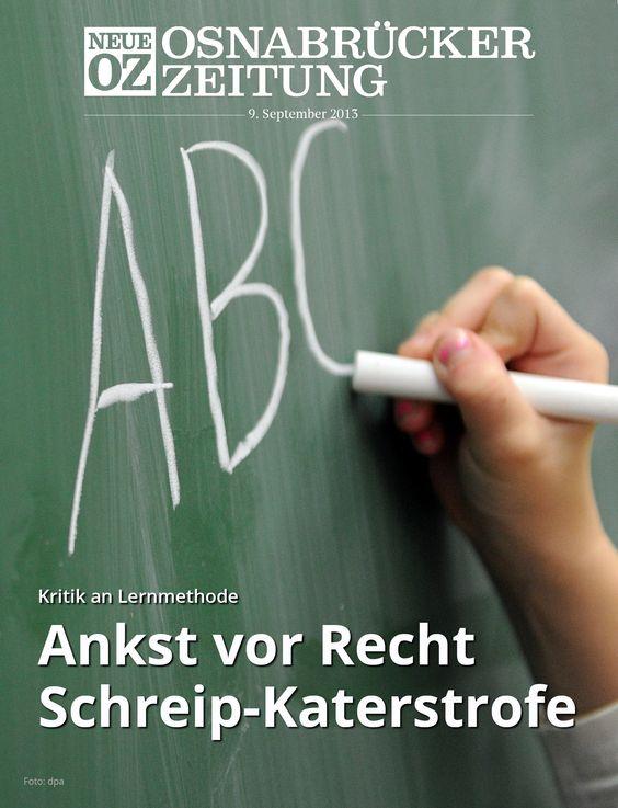 Wie ist es um die Rechtschreibung der Jugend bestellt? Droht die Katastrophe? Mehr dazu im Titelthema der iPad-Ausgabe vom 9. September. http://noz.de/abo/abo-bestellung