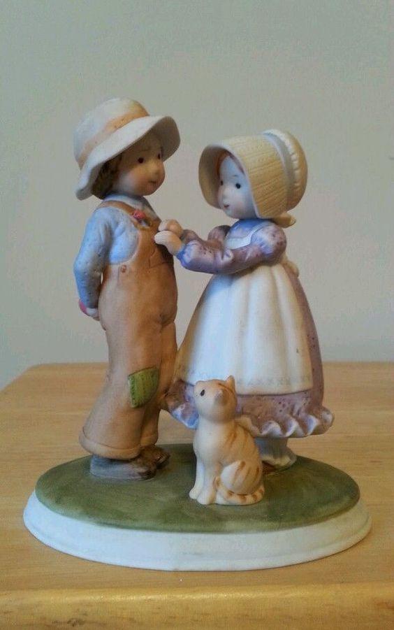 Holly Hobbie and Robbie Figurine | eBay