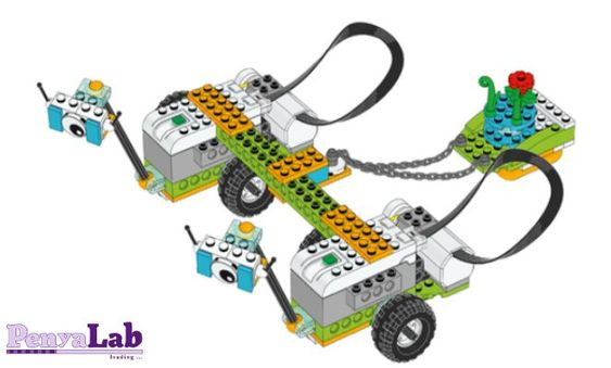 Lego wedo – Milos col·laborant