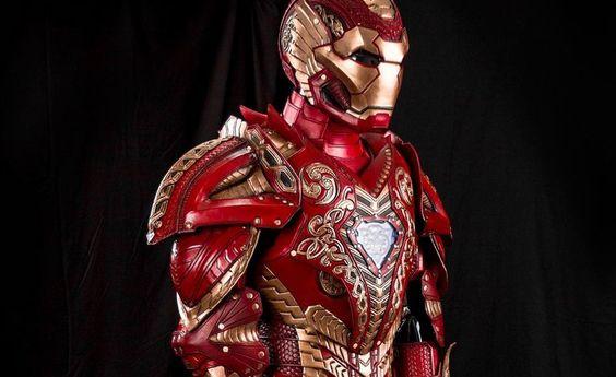 Steampunk Iron Man - http://steamp.co/d/1859 #Iron #crazy #Stark #steampunk