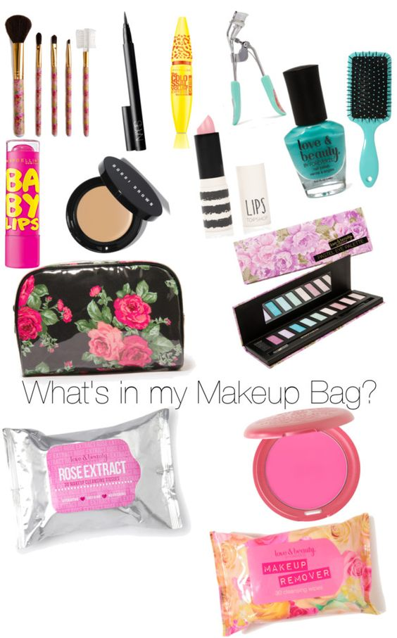 """""""What's In My Makeup Bag?"""" By Mariellelovesyuu On Polyvore"""