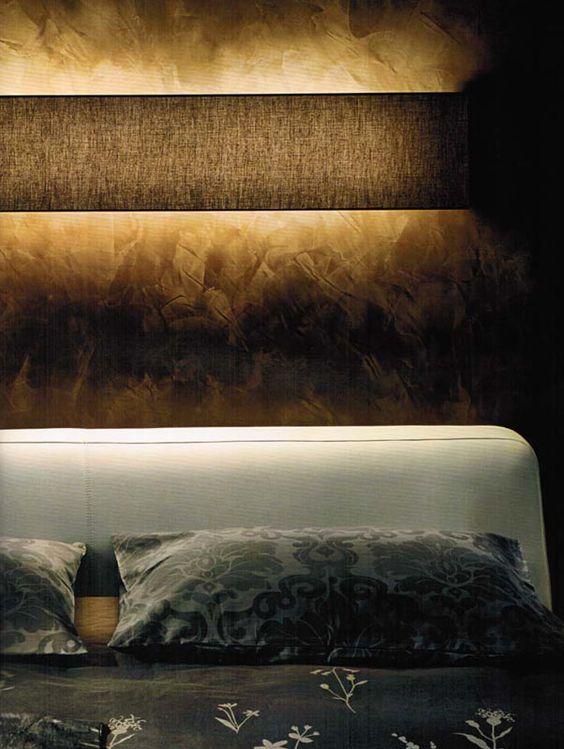 indirekte beleuchtung fürs schlafzimmer | inneneinrichtung | pinterest, Moderne deko